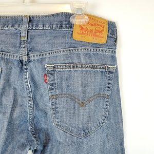 Levi's 569 Mens Blue Jeans 32x32 Medium Wash Denim